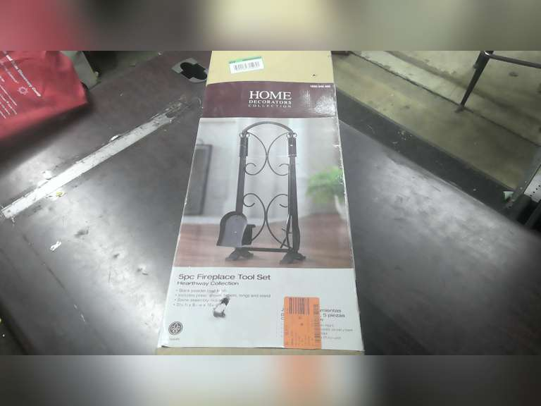 NEW FIREPLACE TOOL SET & NEW TV WALL MOUNT