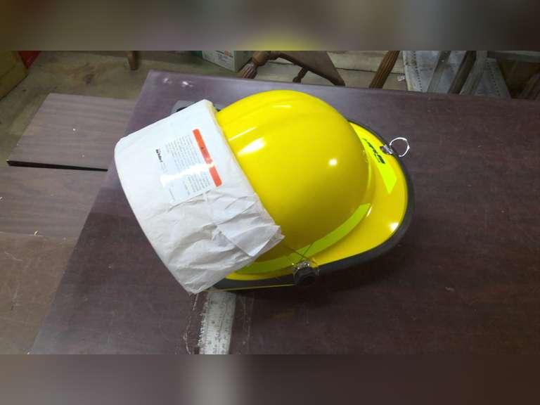 NEW FIREMAN SAFETY HELMET