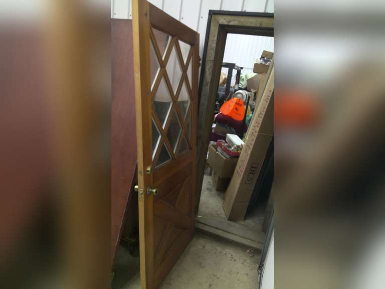 OLD HOUSE DOORS, $1.00 STARTS BID