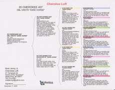 20-CHEROKEE-407 DC H Dbl Dark Horse/Sis Iron Clad