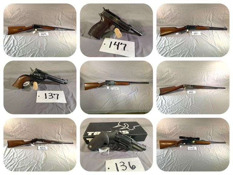 Isburg Firearms & Personal Property Auction