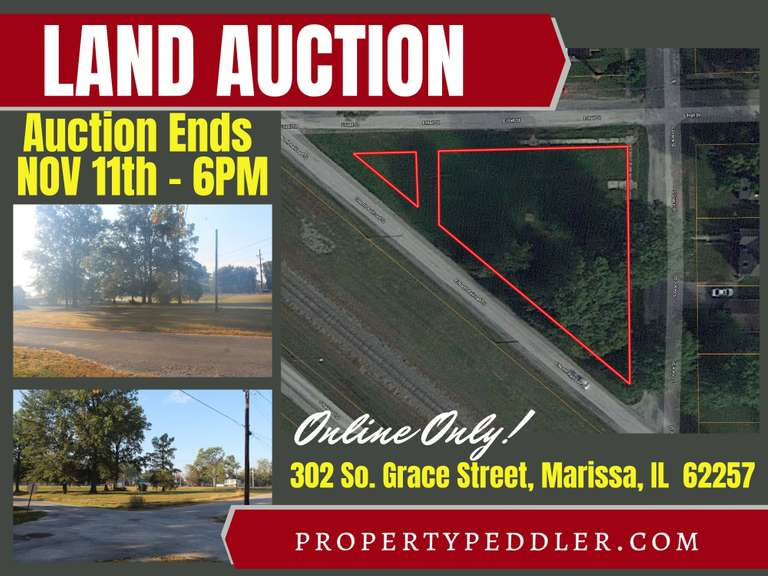 Online Land Auction - Residential Building Lot in St. Clair County, IL