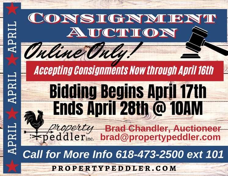 APRIL ONLINE CONSIGNMENT AUCTION