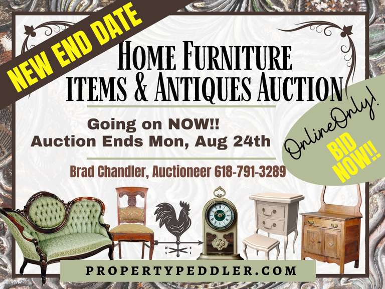 Consignment Auction: Furniture, Antiques & Household Items