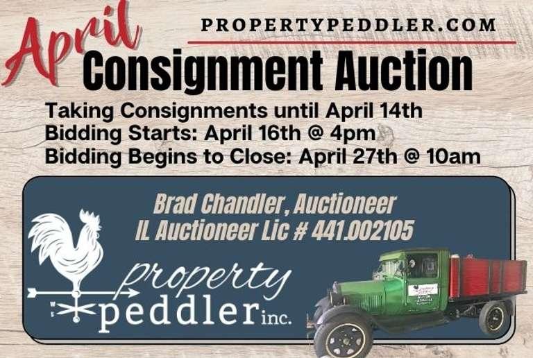April Consignment Auction, 2021