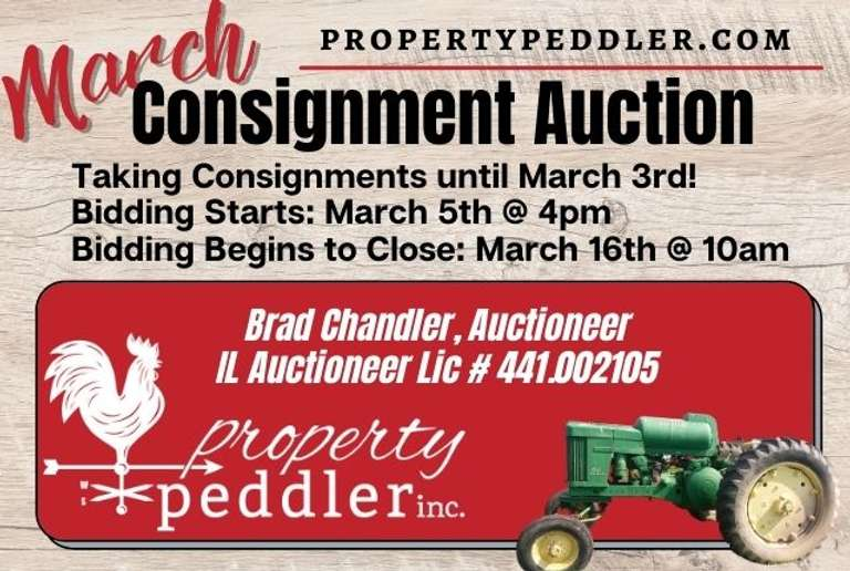 March Consignment Auction, 2021