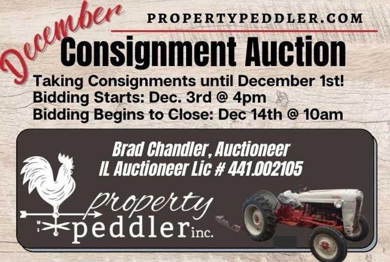 December Consignment Auction, 2021