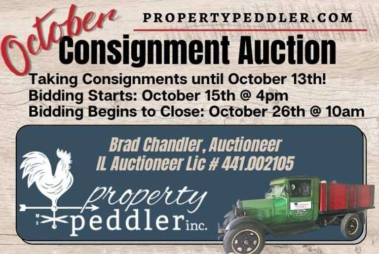October Consignment Auction, 2021