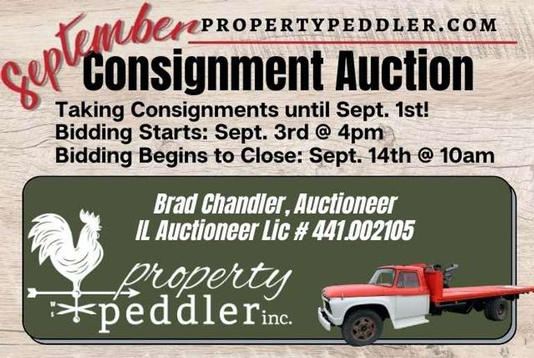 September Consignment Auction, 2021