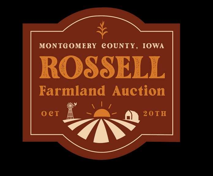 Rossell Farmland Auction - Montgomery County, Iowa - 702.76 Acres M/L