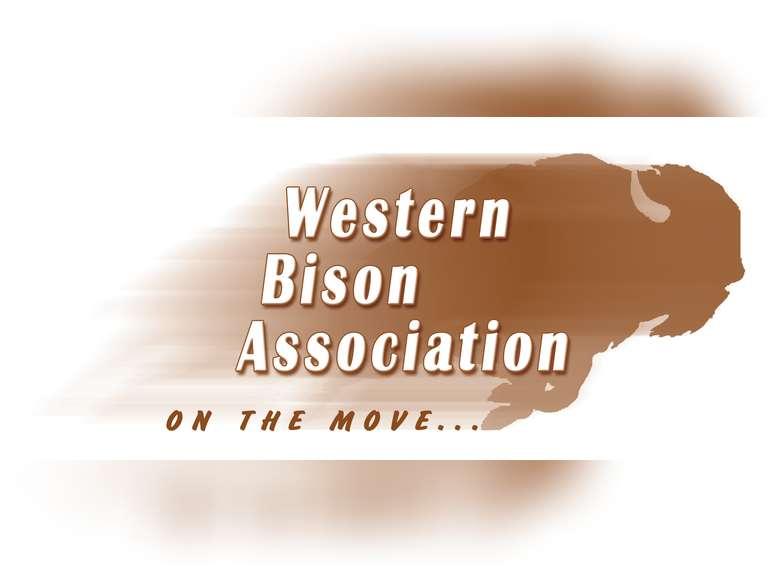 Western Bison Assn. Wild West Buffalo Stampede Simulcast Bison Auction