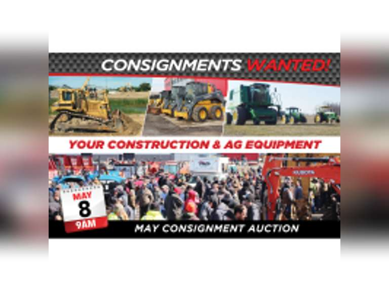 RES Equipment Auction - Construction & Ag Ring