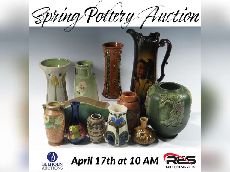 Spring Pottery Auction
