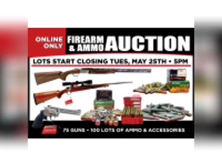 Online-Only Gun & Ammo Auction