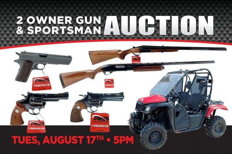 2 Owner Gun & Sportsman Collection