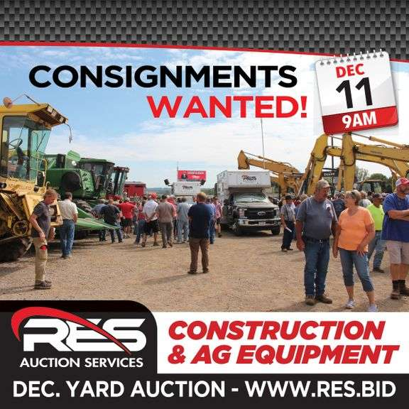 RES Yard Equipment Auction