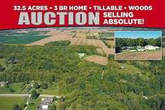 ABSOLUTE REAL ESTATE AUCTION - ORIENT OHIO