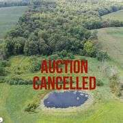 ABSOLUTE Auction – Ashland County – 37.85 +/- Acres – Woods – Stocked Pond – Cabin – Hillsdale Schools