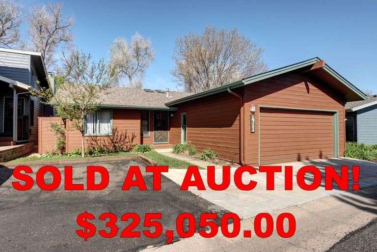 Greeley, Colorado Online Real Estate Auction.