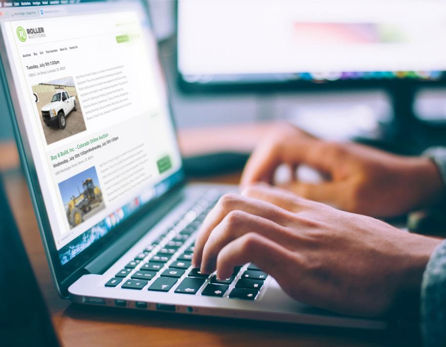 Roller Auction Online Auction Services