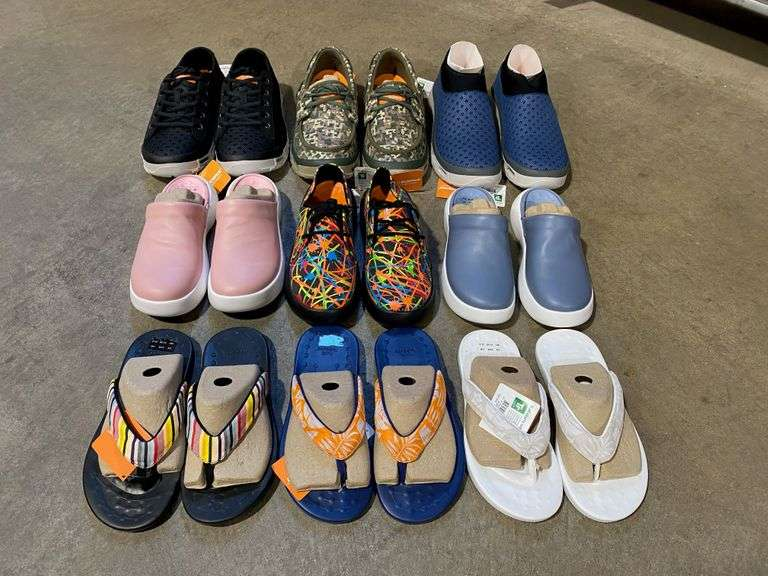 Soft Science Shoe Inventory Final Auction