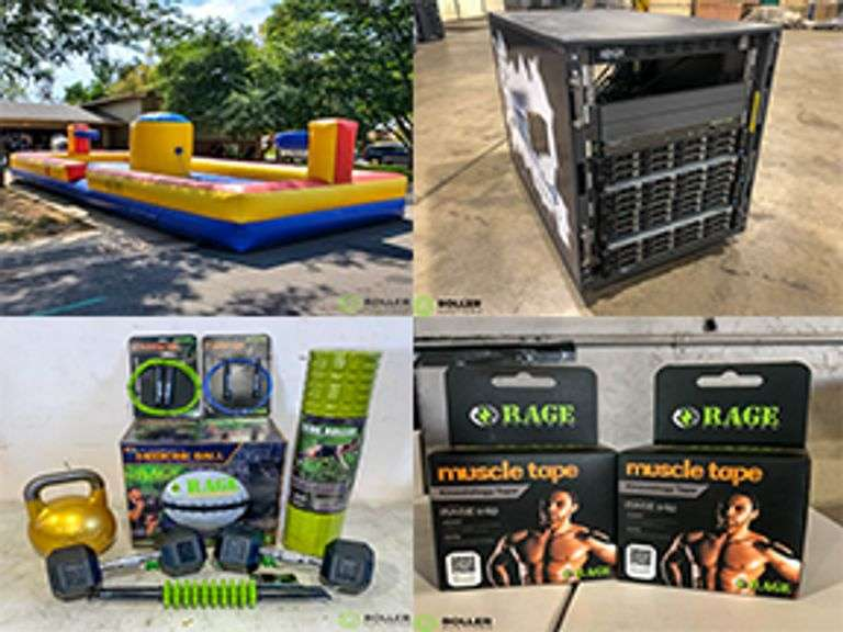 Surplus Furniture & IT Equipment, Rage Fitness Equipment and Event & Party Equipment