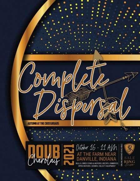 Doub Charolais Complete Dispersal