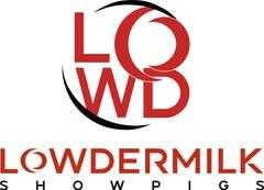 Lowdermilk Showpigs Live Farm Sale