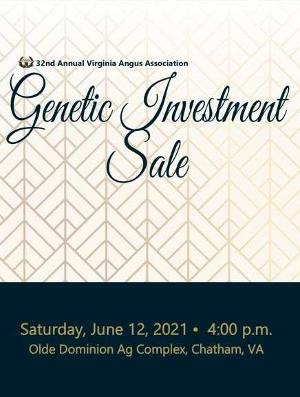 32nd Annual Genetic Investment Sale