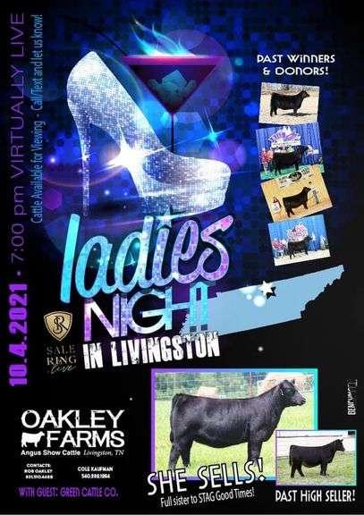 Oakley Farms Virtually Live Online Sale