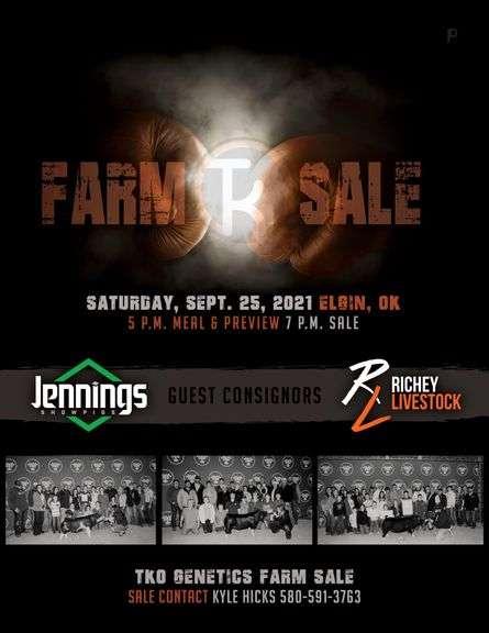 TKO Farm Live Sale