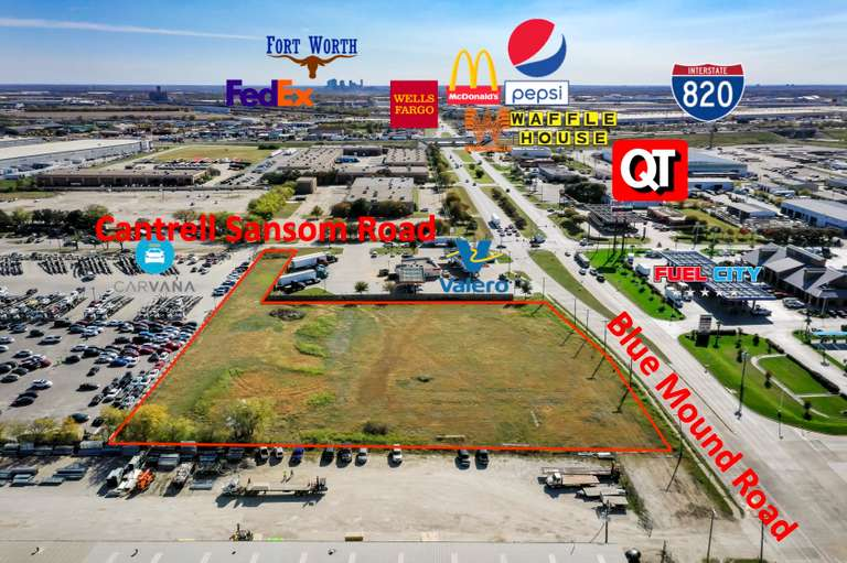 Blue Mound Commercial Development Opportunity