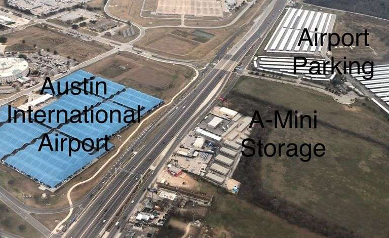 2.75+/- acres across from Austin-Bergstrom International Airport