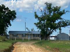 154 AC, Single Family Residence and Barns: Lumber City, GA