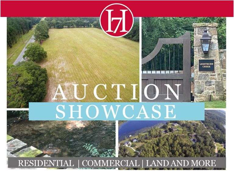 Auction Showcase: Georgia and North Carolina Properties