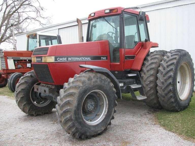 Louis Laux Simulcast Farm Equipment Auction