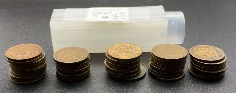 11 - 1903, 9 - 1904, & 28 - 1905 Indian Head Cents