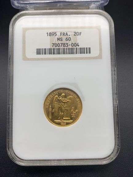 Annual Fall Simulcast Coin Auction