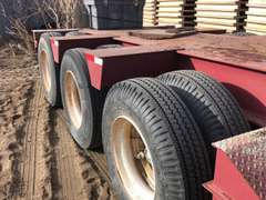 2001 Fontaine RGN 3 Axle Trailer
