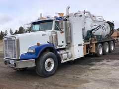 2007 Freightliner Tri Drive  Vacuum Truck