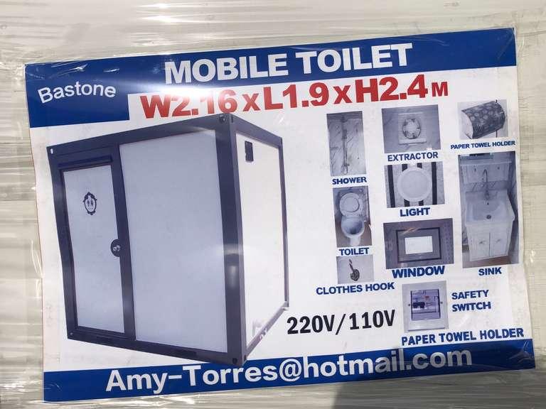 Bastone Mobile Shower & Toilet