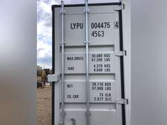 40 ft. High Cube Shipping Container