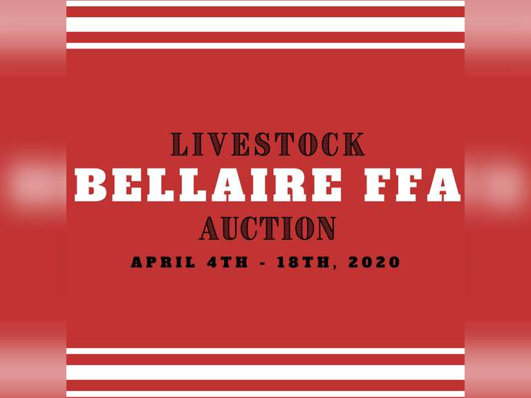 Bellaire FFA Livestock Show & Auction
