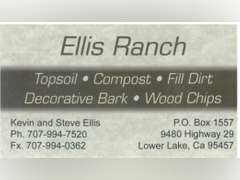 3 Yards Top Soil donated by Ellis Ranch