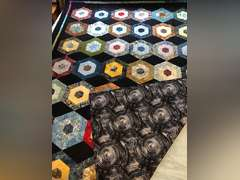 Hexagon Quilt by Jane Alameda