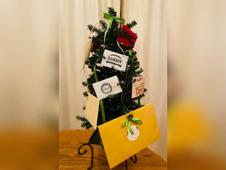 Raffle Tickets for Gift Card Tree $415 value Collected by Scotts Valley 4-H 27 tickets for $20
