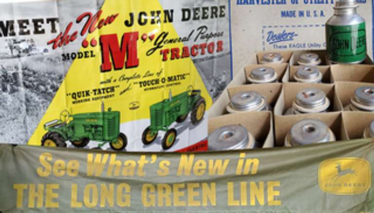 AN AMAZING AUCTION- FRIDAY MORNING, JULY 31ST- WARNEMENT JOHN DEERE DEALERSHIP