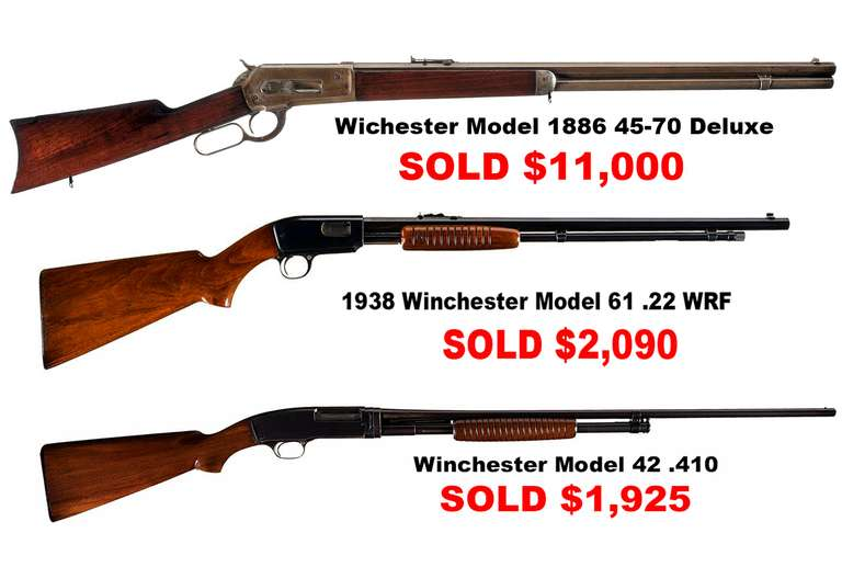 Upcoming Firearm Auction: Friday Morning, January 29th @ 8 A.M.