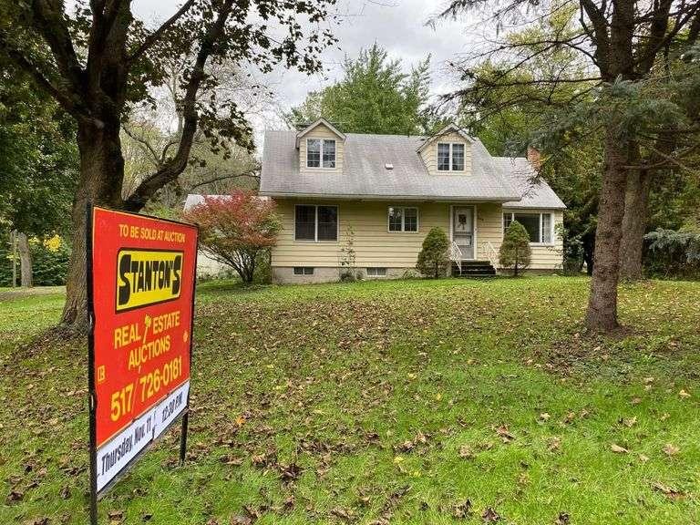 Estate Auction of Real Estate, Thursday, November 11, @ 12:30 P.M.