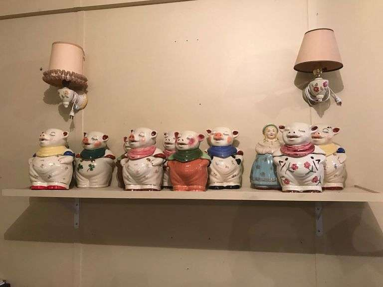 Gibson Estate Shawnee Pottery Collection Auction, Saturday Morning, December 4th @ 9:30 A.M.